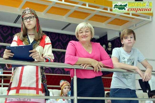 Андреева С.И., педагогическая конференция, школьная страна