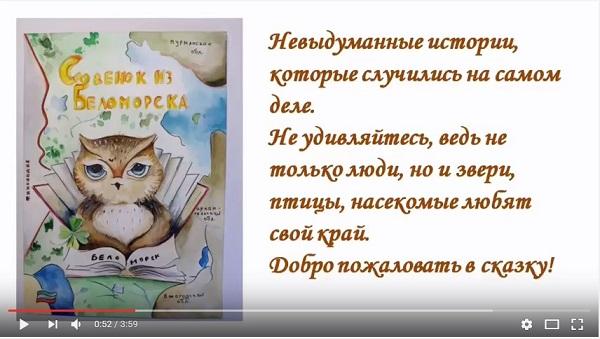 Совенок из Беломорья